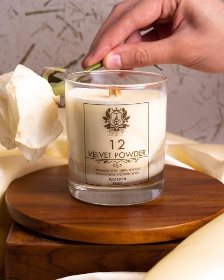 Liverich Soy Candle Velvet Powder
