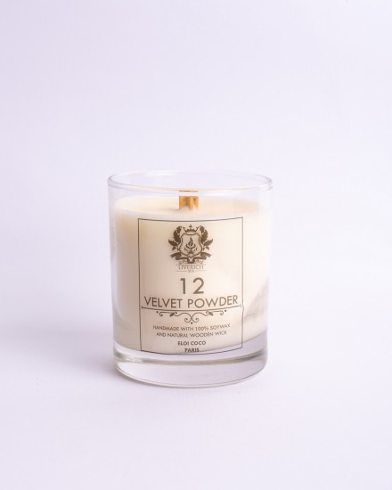 Liverich Soy Candle Velvet Powder