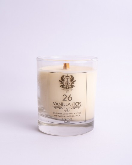 Liverich Soy Candle Vanilla (Ice)