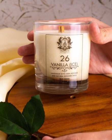 Liverich Soy Candle Oudh