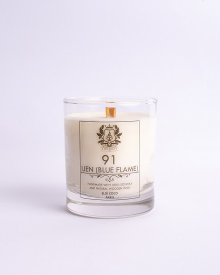 Liverich Soy Candle Ijen (Blue Flame)