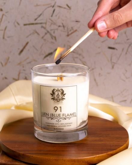Liverich Soy Candle Ijen (Blue Flame)