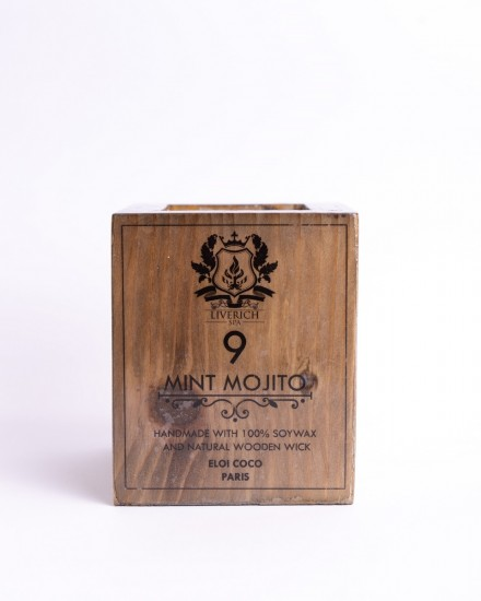 Liverich Soy Candle Mint Mojito