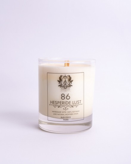 Liverich Soy Candle Hesperide Lust
