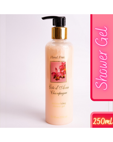 Champagne Floral Fruity Shower Gel 250ml