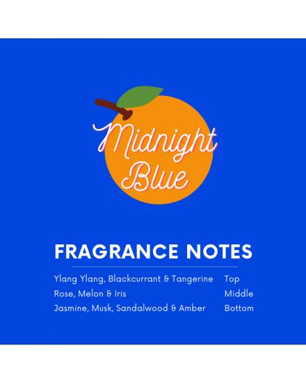 Temptation Midnight Blue Moisturizing Body Mist 250ml