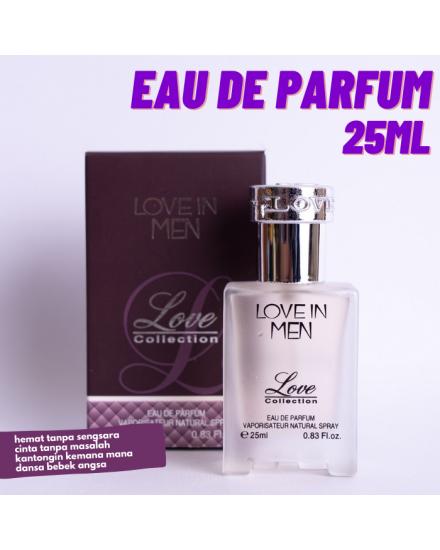 Love Collection Love in Men Eau De Parfum 25ml
