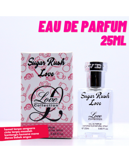 Love Collection Sugar Rush Love Eau De Parfum 25ml