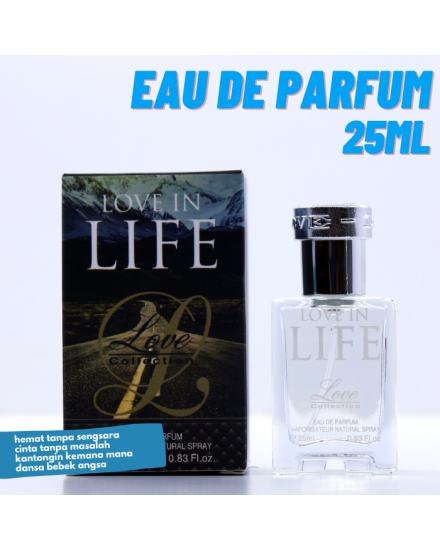 Love Collection Love in Life Eau De Parfum 25ml