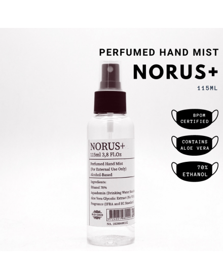 Norus+ Perfumed Hand Mist 115 ml
