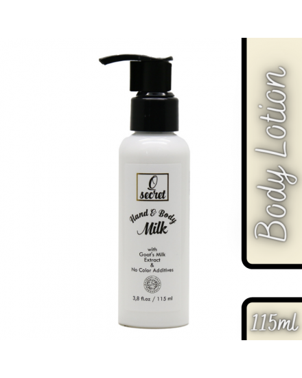 Eloi Coco Q Secret Hand & Body Milk Lotion With Goat's Milk Extract 115ml